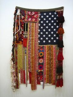 patchwork american flag #the2bandits #inspirationstation