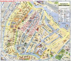 map of amsterdam | Amsterdam City Tourist Map See map details From www.ski-epic.com