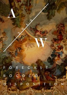 A/W 2016 Forecast  A trend forecasting book for the A/W 2016 season, encompassing color, material, silhouette, and interior.