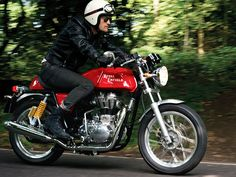 2013 Royal Enfield Continental GT Cafe Racer ~ Return of the Cafe Racers
