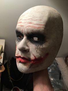 Heath Ledger Joker Face Mask Prop Replica The Dark Knight   Entertainment Memorabilia, Movie Memorabilia, Props   eBay!  #heathledger #thejoker #cosplay #thedarkknight #therpf #heathledgerjoker #jokercostume #thejokercosplay #thejokercostume #heathledgerjokercostume #thejokermakeup #healthledgerjokermakeup #masks #facecast #heathledgeractor #heathledgermovies #giftideas #batman #movies #costumemasks #coolmasks