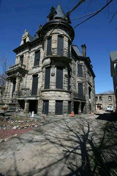 Franklin Castle in Cleveland Ohio.