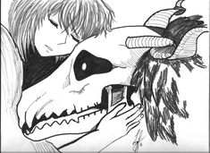 Mahou Tsukai no Yome: I Don't Like the Cold Either by elisabethanrose on DeviantArt Elias Ainsworth, Best Romance Anime, Bride Of The Water God, The Ancient Magus Bride, Anime Love, Nerd, Fandoms, Animation, Fan Art