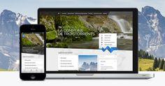 Commune de Troistorrents Site Internet, Web Design, Design Web, Website Designs, Site Design