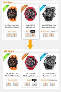Jasa Website Toko Online I Jasa Pembuatan website Bandung Casio Watch, Website