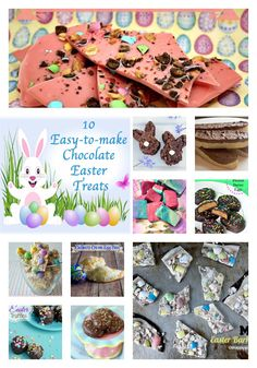 #Recipes for 10 Easy-to-make Chocolate #Easter Treats