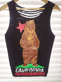 Fatal Shredded California Tank Top by TheLotusPetals on Etsy, $20.00