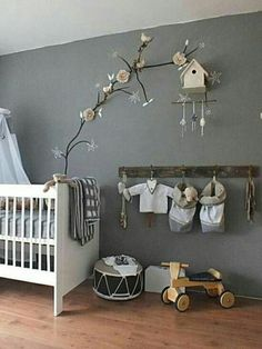 Idee deco chambre bebe mixte 8 moms s fondatoriiinfo decoration gris . Baby Bedroom, Baby Boy Rooms, Baby Boy Nurseries, Nursery Room, Kids Bedroom, Nursery Decor, Room Decor, Nursery Ideas, Nursery Gray
