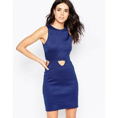 Oh My Love - Cut It Out - Minikleid - Marineblau #dress #asos