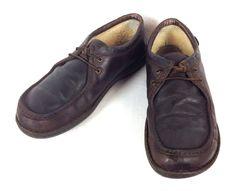 UGG Shoes Moccasins Comfort Brown Fleece Lined Mens 13 #UGGAustralia #BoatShoes