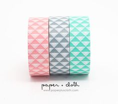 Pink, Grey and Mint Geo goodness