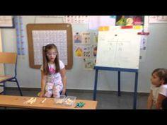 Descomposición de un número en decenas y unidades (Infantil 5 años). - YouTube