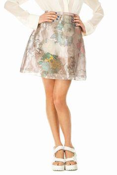 Christopher Kane  A-Line Mini Skirt