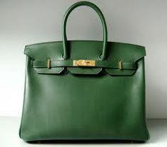 Jessica Simpson Bags Hermes Birkin Bag in Vert Laurier