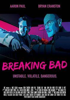 Breaking Bad Alternative TV Show Cover Artwork by DesignGlobal