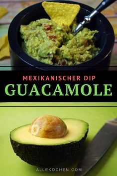 Simple guacamole recipe - quick and . - Simple guacamole recipe is a healthy and quick snack. The Mexican dip is popular with the whole fam - Mexican Dips, Mexican Food Recipes, Snack Recipes, Ethnic Recipes, Mexican Avocado, Vegetarian Recipes, Healthy Eating Tips, Easy Healthy Recipes, Healthy Snacks