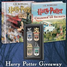 Harry Potter Illustrated Books & Bookmarks Giveaway