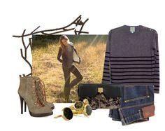 """Step through the winter pines of my mind"" by evangeline1 ❤ liked on Polyvore featuring C&C California, Tory Burch, Marc Jacobs, Monica Vinader, Melissa Joy Manning, green, earth, warm and cozy"