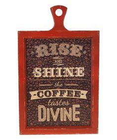 Love this 'Divine' Wooden Sign by VIP International on #zulily! #zulilyfinds