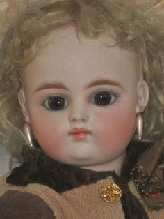 Rare Mark Small French Bisque Bebe ~ France 1880 / 85 ~