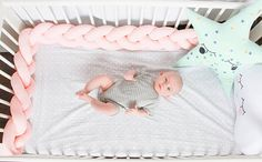 Braided Crib Bumper Knot Pillow Knot Cushion Decorative
