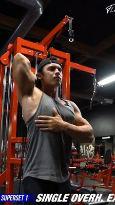 Bicep And Tricep Workout, Gym Workout Videos, Gym Workouts For Men, Gym Tips, Shoulder Workout Routine, Ripped Workout, Academia Fitness, Bodybuilding Workouts, Muscle Fitness