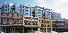 The Quadrant off Broadway in Sydney, by Cox Richardson Architects