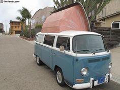1971 Bay Window Dormobile
