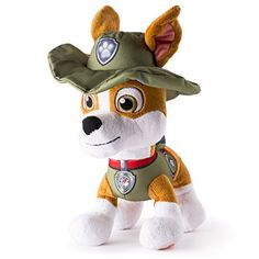 "Paw Patrol - Basic 10"" Plush - Tracker *** Click here for more details @"