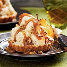 Caramel Apple Ice-cream Tarts Recipe | MyRecipes.com