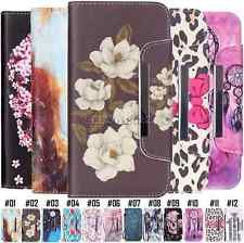 Pattern Leather Flip Case Holder Stand Card Wallet Cover Protective FOR Samsung | eBay