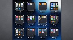 organizing iPhone apps by actions...genius