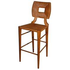 How To Marry A Millionaire Barstool (Rush) - Traditional Rustic / Folk Mid-Century / Modern Barstools & Counter Stools Find Furniture, Rustic Furniture, Contemporary Furniture, Furniture Design, Unique Bar Stools, Modern Bar Stools, Elegant Kitchens, Island Design, Traditional Decor