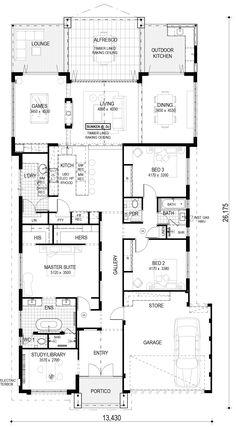 Single Storey Display Homes Perth - The Aston | Perceptions