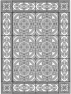 Welcome to Dover Publications Coloring pages for the older ones
