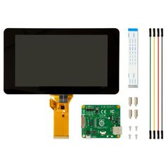 """The 7"""" Touchscreen Monitor for Raspberry Pi gives users the ability to create all-in-one, integrated projects such as tablets, infotainment systems and embe"""