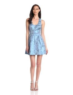 Blue Juice Women's Snazzy Brocade Dress, Shiny Blue, Large bluejuice,http://www.amazon.com/dp/B00BN55A5G/ref=cm_sw_r_pi_dp_DJOlsb17FNJXA820