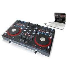 If you are a DJ or into the DJ culture from the 80's or 90's you know that back in the day you would need to bring a lot heavy records and CDs to every gig and you would still be worried that you didn't bring enough music.  And if you were really serious about your craft you would bring additional equipment for audio effects, sampling and looping functions.  The DMXU90C Professional USB Mixer Controller with Built In Audio Interface is a DJ's dream come true!      On Sale for $299.99