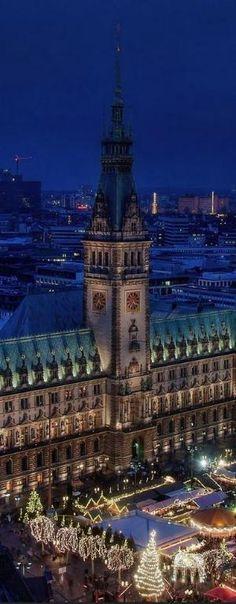 Hamburg, Germany by LADY_VIOLA