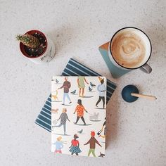 A simple moment jotting down ideas and sipping on a latte ☕ Back To Work, Paper Goods, Latte, Fall Winter, In This Moment, Studio, Simple, Cards, Pose