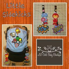Sidekick boys Tula accessories