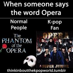 I just think of Sungmin as the Phantom! LOL Even though EXO-M's Kris did dress up as the Phantom!!!