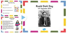Roald Dahl Day PowerPoint - An informative PowerPoint introducing children to Roald Dahl Day and covering many aspects of the author's life and work.
