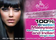 Virgin hair sold at kerryhair