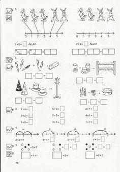 Gyere mesélj! - Képgaléria - Sulis feladat lapok (alsó tagozat) - Általános Matematika 1. osztály