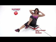 VX-Power Slimplate Vibration Plate Workout! - YouTube