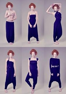 VCTRY's BLOG: Vestido transformable Tuta mucca cow dress overall...