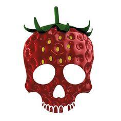 Strawberry Skull