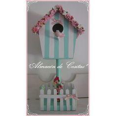 Casas De Pajaritos Decorada Souvenirs Cumpleaños - $ 110,00
