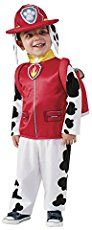 Put out the fire in this PAW Patrol Marshall costume. Includes jacket, backpack, and hat with attached ears. This is an officially licensed PAW patrol product. Marshall Halloween Costume, Paw Patrol Halloween Costume, Marshall Costume, Toddler Halloween Costumes, Halloween Kostüm, Trendy Halloween, Halloween Jewelry, Marshall Paw Patrol Costume, Paw Patrol Marshall